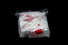 1.0x0.75 Clear Apple Baggies