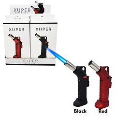 Xuper One Side Angle Colored Heavy Duty Torch Lighter 99-X01BR (Buy 6pc or more $9.25 each)
