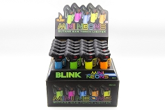 Blink Mini Angle Torch Neon Colored 20ct Display Box #728