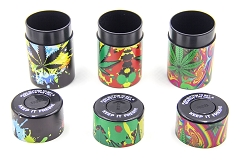 Leaf UV Painting Plastic Sealed Cans 6ct Display Box CT-01L