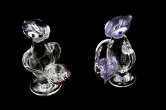 Clear Alien Glass Pipe