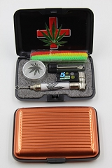 Gift Set Includes Metal Pipe, Container, Pipe Screen, Container & Cleaner
