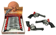 Revolver Single Flame Torch Gun Lighter 16ct Display Box GH-9560