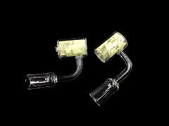 14mm Female Glow in the Dark Quartz Banger