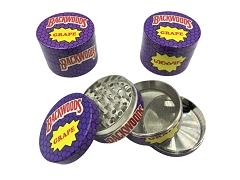 50mm 4 Part Backwoods Grape Aluminum Grinder (Buy 12ct Display Box $5.50 each) TG-BWG