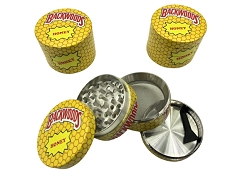 50mm 4 Part Backwoods Honey Aluminum Grinder (Buy 12ct Display Box $5.50 each) TG-BWH