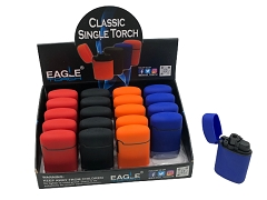 Eagle Torch Classic Single Flame Torch Lighter 20ct Display Box PT113