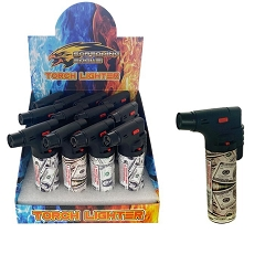 Screaming Eagle Dollar Bill Design Jet Torch Lighters 12ct Display Box J9452-$
