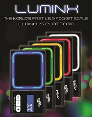 Weighmax Luminx 1000G/0.1G LED Scale (Choose Color) LUX1000
