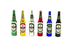 Colored Beer Metal Pipe ( Buy 30 Pcs $ 1.10 Each )