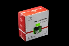 Motex MX-5500 Series Price Gun Labels Rolls( 25roll x 1000 pieces ) with ink