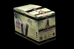 5 Rollies / Pouch w/ Boveda - 15 Units Per Display Box King Palm