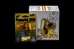 POWERFUL ZEN GOLD Male Sexual Performance Enhancement Pill 100% Original ( Buy 24 pc $ 3.99 Each )