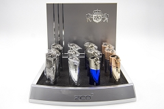 ZD-41 Zico 2 Flame Torch Lighter 12ct Display Box