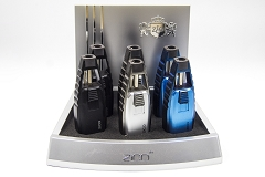 ZD-60 Zico 1 Flame Torch Lighter 6ct Display Box