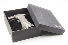 MT-33 Black Multiple Flame Zico Torch Lighter w/ Gift Box