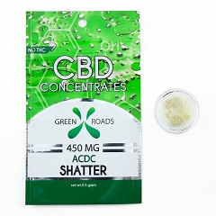 Green Roads CBD Shatter Concentrates
