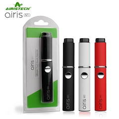 Airistech AirisN1 Ultimate QCell Quartz Vaporizer Kit for WAX (Mixed Colors-Black, White & Red)