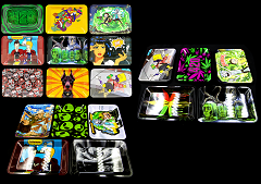 7x5 Mixed Designed Metal Trays (Available in 26 Designs)