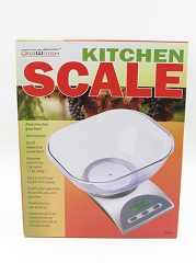 Digiweigh Silver Body Kitchen Scale (Measures from 1g to 5kg) DW-83