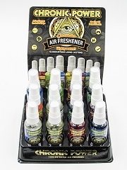 Chronic Power Assorted Air Fresheners 12ct Display 13920