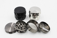 50mm 4 Part Colored Heavy Metal Grinder 10954 ( Buy 6 pc $ 5.50 Each )