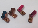 Colored Wood Pipe ( Buy 2pc $ 1.75 Each )
