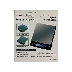 Digiweigh Jewelry Scale 500g/0.01g Large Platform Scale DW-500T