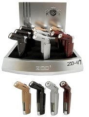 ZD-47 Zico 1 Flame Torch Lighter 9ct Display Box