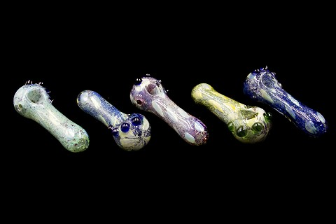 150Gr. Mixed Colored Heavy Glass Pipe
