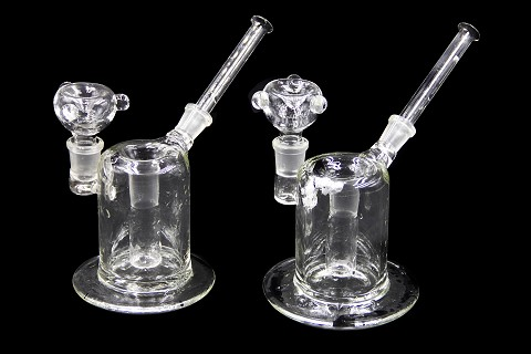 Clear Ash Catcher Big w/ Bowl