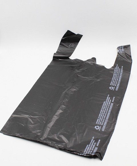 12x7x22 Plastic Black Bags 400pc in Box