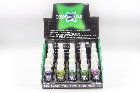 BOOM OUT Oil Concentrated Air Freshner 20ct ( Mix Flavors )