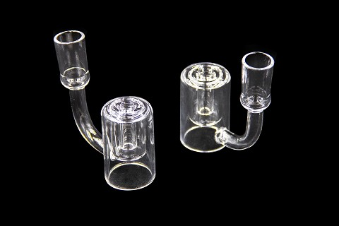 14mm Female Inside Shower Perc Quartz Banger QJTC