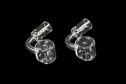 14mm Female Open Round Quartz Banger QTRG