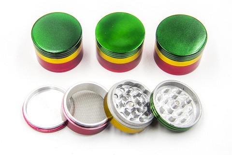 50mm 4 Part Rasta Grinder