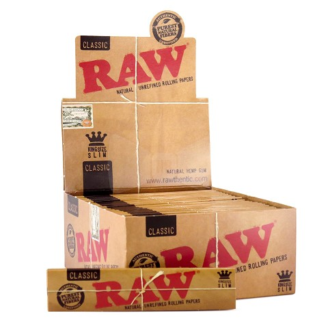 Raw Classic Slim King Size Papers 50ct Box