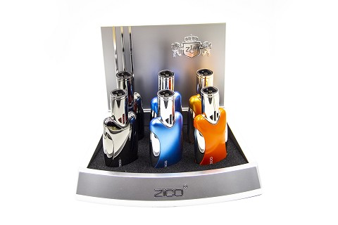 ZD-46 Colored Zico Torch Lighter 6ct Display