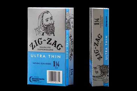 ZIG ZAG PAPERS ULTRA THIN 1 1/4