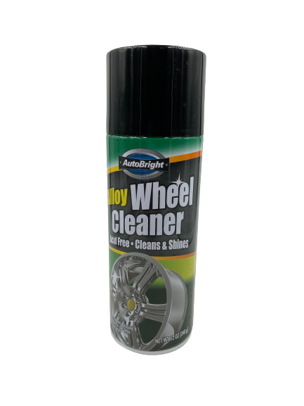Alloy Wheel Cleaner Stash Can