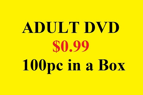 All Adult DVDs 100pcs